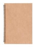 Caderno espiral em branco Fotos de Stock