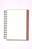 Caderno isolado Imagem de Stock Royalty Free