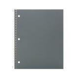 Caderno isolado no branco Fotos de Stock