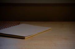 Caderno liso Foto de Stock Royalty Free