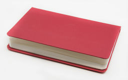 Caderno no fundo branco Imagem de Stock Royalty Free
