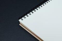 Caderno vazio Foto de Stock