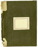 Caderno velho áspero com espinha quebrada Fotografia de Stock Royalty Free