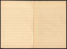 Caderno velho Fotografia de Stock