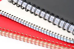 Cadernos fotografia de stock royalty free