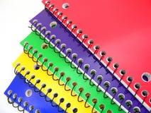 Cadernos Imagem de Stock