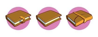Cadernos de vários tipos Imagens de Stock
