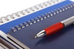 Cadernos e o lápis Fotos de Stock