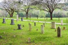 Cades小海湾的一座老公墓在大烟山国家公园 库存照片