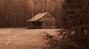 Cades cove cabin Royalty Free Stock Photography
