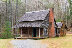 Cades Cove Cabin Stock Photo