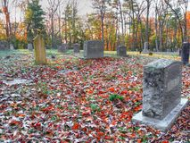 Cades Cove Cemetery Royalty Free Stock Photography