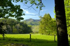Cades Cove in Great Smoky Mountains National Park Stock Images