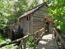 Cades Cove Grist Mill Stock Image