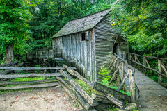Cades Cove Grist Mill Royalty Free Stock Images