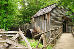 Free Cades Cove Gristmill Royalty Free Stock Photography - 19762337