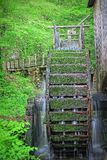 Cades Cove Gristmill. Long exposure photograph of the gristmill in Cades Cove, Tennessee Stock Photos