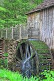 Cades Cove Gristmill PT 2. Long exposure photograph of the gristmill in Cades Cove, Tennessee Stock Photos