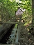 Cades Cove Grist Mill Royalty Free Stock Photos