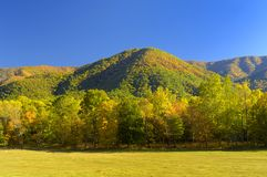 Cades Cove in Late October. Great Smoky Mountains National Park is famous for Cades Cove's exquisite beauty.  It is the most visited USA national park for that Royalty Free Stock Photography