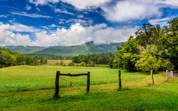 Cades Cove Stock Image