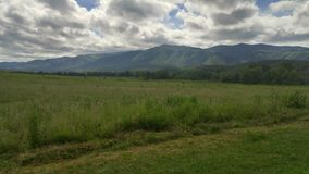 Cades Cove Mountains Royalty Free Stock Image