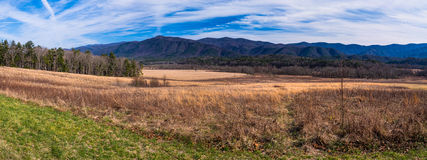Cades Cove Mountains Stock Photos