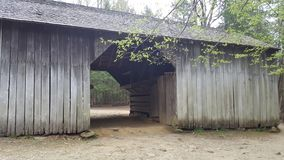 Cades cove smoky mountains east Tennessee Sevierville pigeon forge Gatlinburg primitive nature scene. Ry Stock Photo