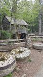 Cades cove smoky mountains east Tennessee Sevierville pigeon forge Gatlinburg primitive nature scene. Ry Royalty Free Stock Photography
