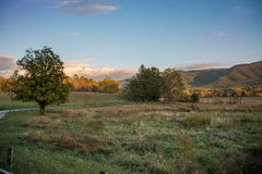 Cades Cove in Smoky Mountains National Park, Tennessee stock images