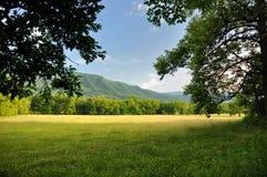 Cades zatoczka w Great Smoky Mountains parku narodowym Obrazy Royalty Free