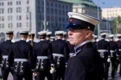 Cadet on ceremonies stock image