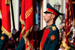 Cadet guard of honor Royalty Free Stock Photography