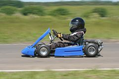 Cadet Kart. Side view of a cadet go kart Royalty Free Stock Photo