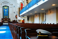 Cadet's Chapel, United States Naval Academy, Annapolis royalty free stock photo