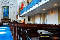 Cadet& x27; s Kapel, de Zeeacademie van Verenigde Staten, Annapolis royalty-vrije stock foto