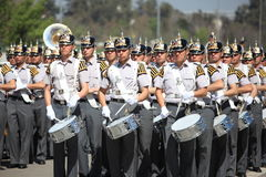 Cadetes de la escuela militar chile Imágenes de archivo libres de regalías