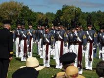 Cadetes de Virginia Military Institute (VMI) Imagenes de archivo