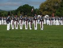 Cadetes militares del instituto de Virginia (VMI) Imagen de archivo libre de regalías