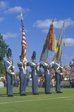 Cadets At Football Game, West Point Military Academy, West Point, New York Stock Photography