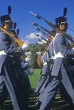 Cadets Marching in Formation Stock Photo