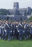 Cadets Marching in Formation, West Point Military Academy, West Point, New York Royalty Free Stock Photo