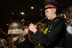 Cadets marks 70th anniversary of the end of World War II Stock Image