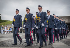Cadets marks 70th anniversary of the end of World War II Stock Photos