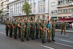 Cadets militaires Photo stock
