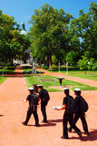 Cadets at the US Naval Academy Stock Photos