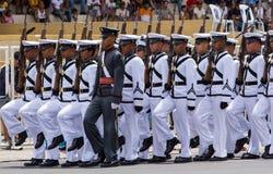 Cadetti filippini dell'accademia militare Immagini Stock