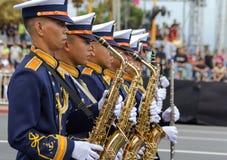 Cadetti filippini dell'accademia militare Fotografia Stock Libera da Diritti