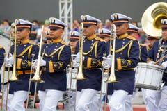 Cadetti filippini dell'accademia militare Fotografia Stock