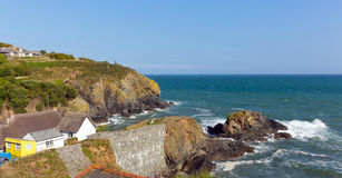 Cadgwith Cornwall England UK on the Lizard Peninsula between The Lizard and Coverack Stock Image